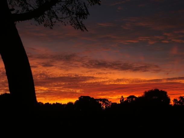 Por do Sol em Witmarsum